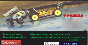 22 de Octubre - Quinta prueba Campeonato de Euskadi 1/8 TT e