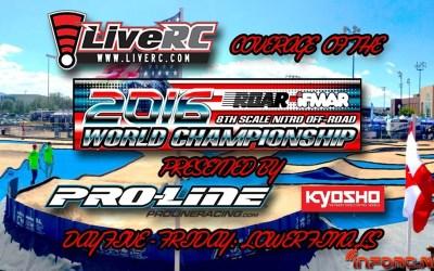 Video en directo - Campeonato del Mundo en Las Vegas. Comienzan desde 1/8 de final. Comentarios de pilotos españoles.