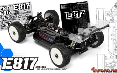 Hot Bodies E817 1/8 TT Eco, ya disponible en Modelspain