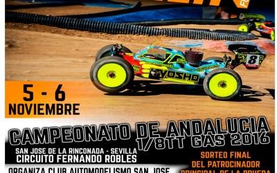 5 y 6 de Noviembre - Campeonato de Andalucía en San José de la Rinconada. Gran Premio Merlin. Fotos del trazado