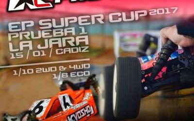 15 de Enero - Primera prueba EP Super Cup Andalucía. GP RC Pro Style