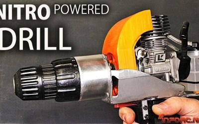 Video - Como fabricar un taladro con motor nitro en lugar de eléctrico