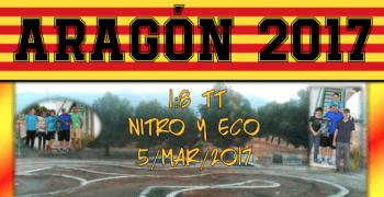 5 de Marzo - Segunda prueba del Campeonato de Aragon 1/8 TT 2017