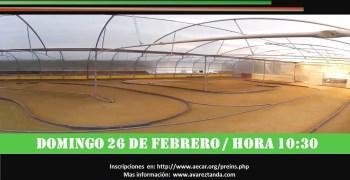 Domingo 26 de Febrero - Primer Campeonato Euskadi 1/8 TT Eléctrico indoor