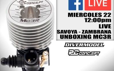 Hoy a las 12.00, vídeo en directo con Reno Savoya, desmontando un motor RC Concept MC3R