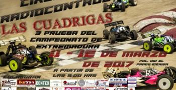 11 y 12 de Marzo - Tercera prueba puntuable Campeonato de Extremadura 1/8 TT Gas