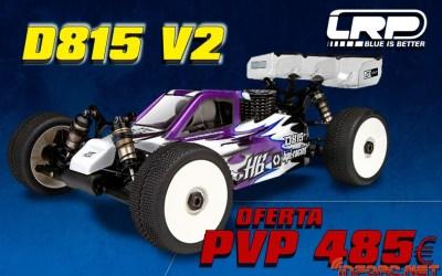 Oferta - HB Racing D815 V2 por 485€