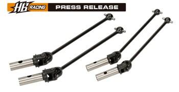 HB Racing - ya disponibles por separado los cardan centrales para el D817