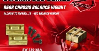 SWorkz - Nuevas opciones para la serie S35. Pesos y placa de trapecios