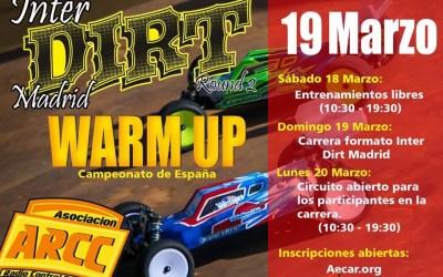 18 de Marzo - Segunda prueba Inter Dirt Madrid en ARCC Coslada