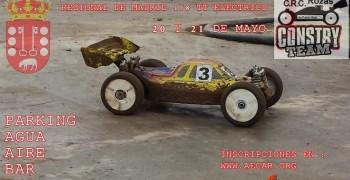 20 y 21 de Mayo - Tercera prueba regional Madrid 1/8 TT E en Rozas de Puerto Real