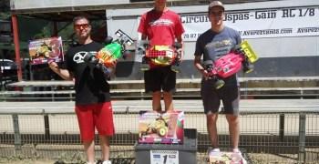 Juan Carlos Canas se lleva la tercera prueba del Campeonato de España 1/8 TT Eléctrico