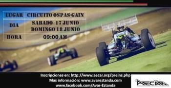 17 y 18 de Junio - Tercera prueba Campeonato de España 1/8 TT Eléctrico en Mendaro
