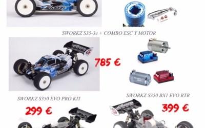 Oferta - combos de competición y RTR en Shark Racing Products
