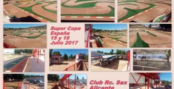 15 y 16 de Julio - Super Copa de España 1/8 TT Gas en el nuevo circuito de Sax