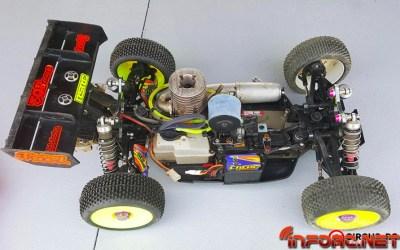¿Como es por dentro? - Un Mugen MBX7R convertido en 2WD. Video.