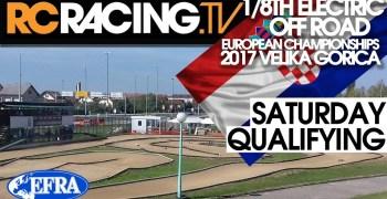 Video en directo - Mangas clasificatorias del Campeonato de Europa 1/8 TT Eléctrico en Croacia