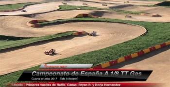 Vídeo - Primeras vueltas de algunos top al trazado de Elda