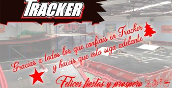 Felices fiestas de Tracker RC