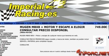 Mugen MBX8, ya disponible en Imperial Racing
