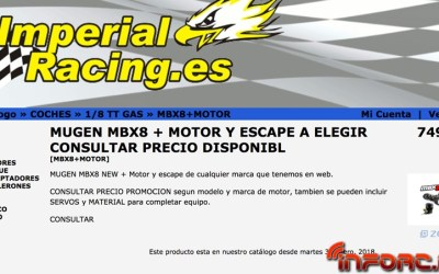 Mugen MBX8, ya disponible en Imperial Racing