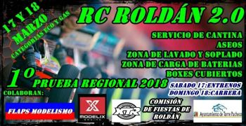 17 y 18 de Marzo - Primera prueba del Regional de Murcia en Roldan RC 2.0. Video.