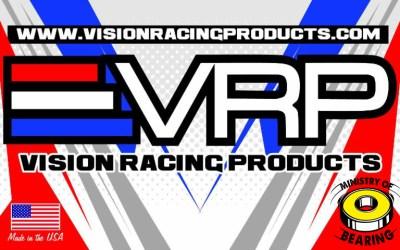 Vision Racing Products, VRP, distribuido para España por Ministry of Bearing