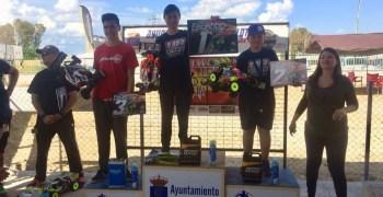 Jose Palma, Josemi Sanchez y Carlos Cano, top 3 en la segunda del Nacional B en La Carlota