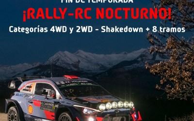 30 de Junio - Cuarta prueba del Campeonato de Granada Rally RC ¡Rally nocturno!