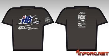 Camisetas HB Racing edición Campeonato del Mundo