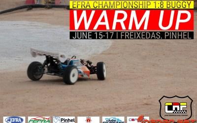 Warm Up Campeonato de Europa en Freixedas. Horarios, tiempos en directo y pilotos españoles