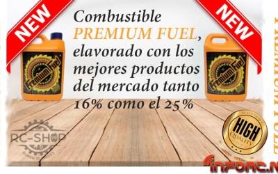 Premium Fuel, el combustible desarrollado por RC Shop 99 y Ruben Olivares