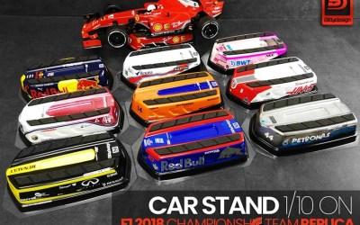 Bittydesign presenta su suporte para coches 1/10 touring y F1
