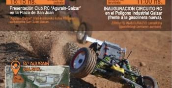 5 y 6 de Octubre - Inauguración del circuito TT Agurain