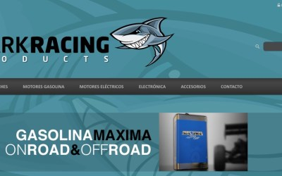 ¡Shark Racing Products estrena página web!