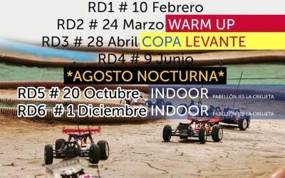 Calendario 2019 - Campeonato Social Costablanca