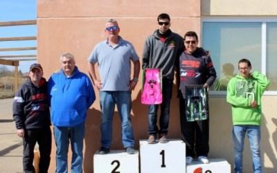 Pole y victoria de Victor Gonzalez en el Warm Up del Campeonato de Aragon 1/8 Pista