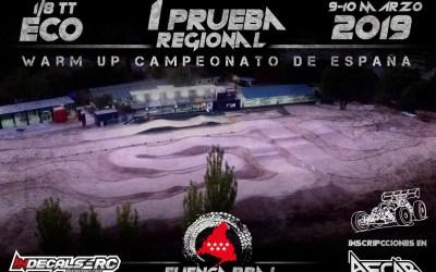 9 y 10 de Marzo - Primera prueba regional 1/8 TT-E Madrid en Fuencarral