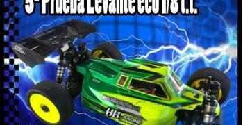 28 de Abril - Quinta prueba del Campeonato del Levante 1/8 TT elécrtico