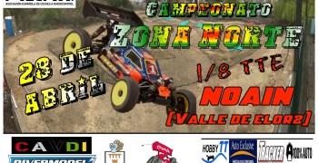 28 de Abril - II prueba del campeonato intreclubes zona norte 1/8TTE