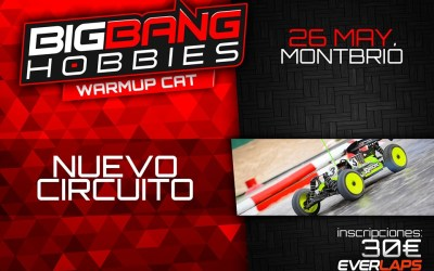 26 de Mayo - ¡¡Vuelve la Big Bang Race!!