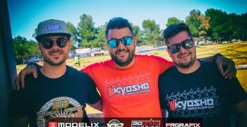 Bryan Baldo, Daniel Bernabe y Oscar Baldo, top 3 en la Q1 en Silla. Video