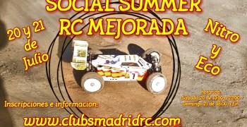 20 y 21 de Julio - Social Summer RC Mejorada
