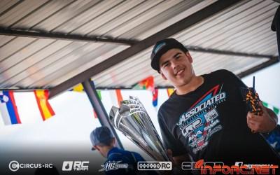 Davide Ongaro, campeón de Europa 1/10 2WD