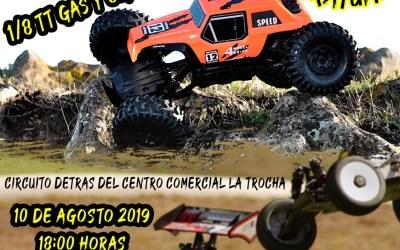 10 de Agosto - Exhibición coches rc 1/8 TT gas y Crawler en Coín