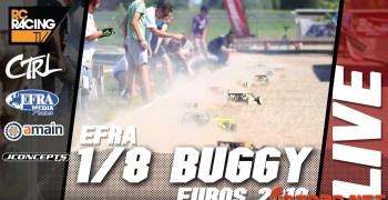 ¡Final del Campeonato de Europa 1/8 TT Gas en Sacile! Coméntala en directo con nosotros