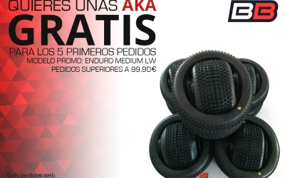 ¡AKA gratis en Big Bang Hobbies!