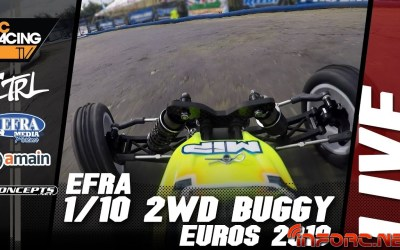 Video en directo - Euro 1/10 off road 2WD en Italia