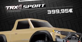 Promo - TRAXXAS TRX-4 Sport Desert Tan + cargador en Big Bang Hobbies