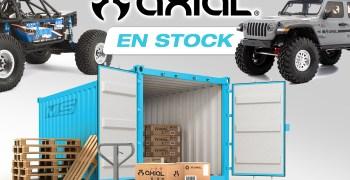 Modelspain, stock para envío 24 horas en toda la gama Axial